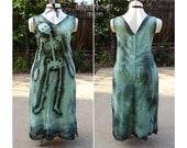 PLUS SIZE Zombie Costume // Zombie Housewife Halloween Costume // Skeleton Dress // Dead Doll // Ghastly Garden Dress