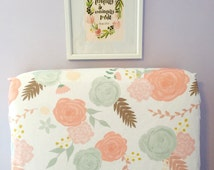 Unique Fitted Crib Sheet Related Items Etsy