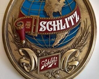 Schlitz Beer Sign Etsy