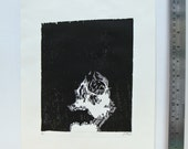 Raising The Dead  - Woodcut Print