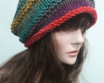 Women Slouchy Beanie Baggy Hat Dreadlock Hat Rasta Hat Fashion Accessories Winter Hats Gift Ideas