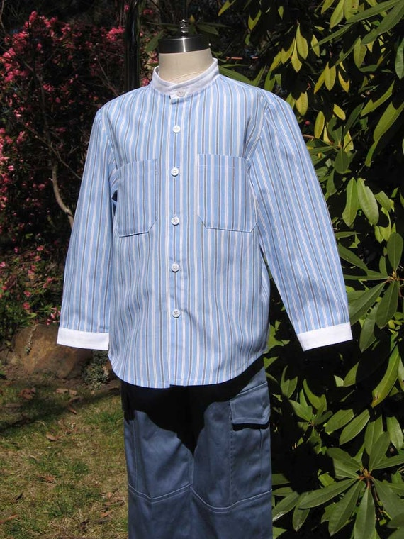 Sewing pattern for Classic Shirt  for boys and girls, boys pdf shirt pattern, children's sewing pattern sizes 3 to 12 years