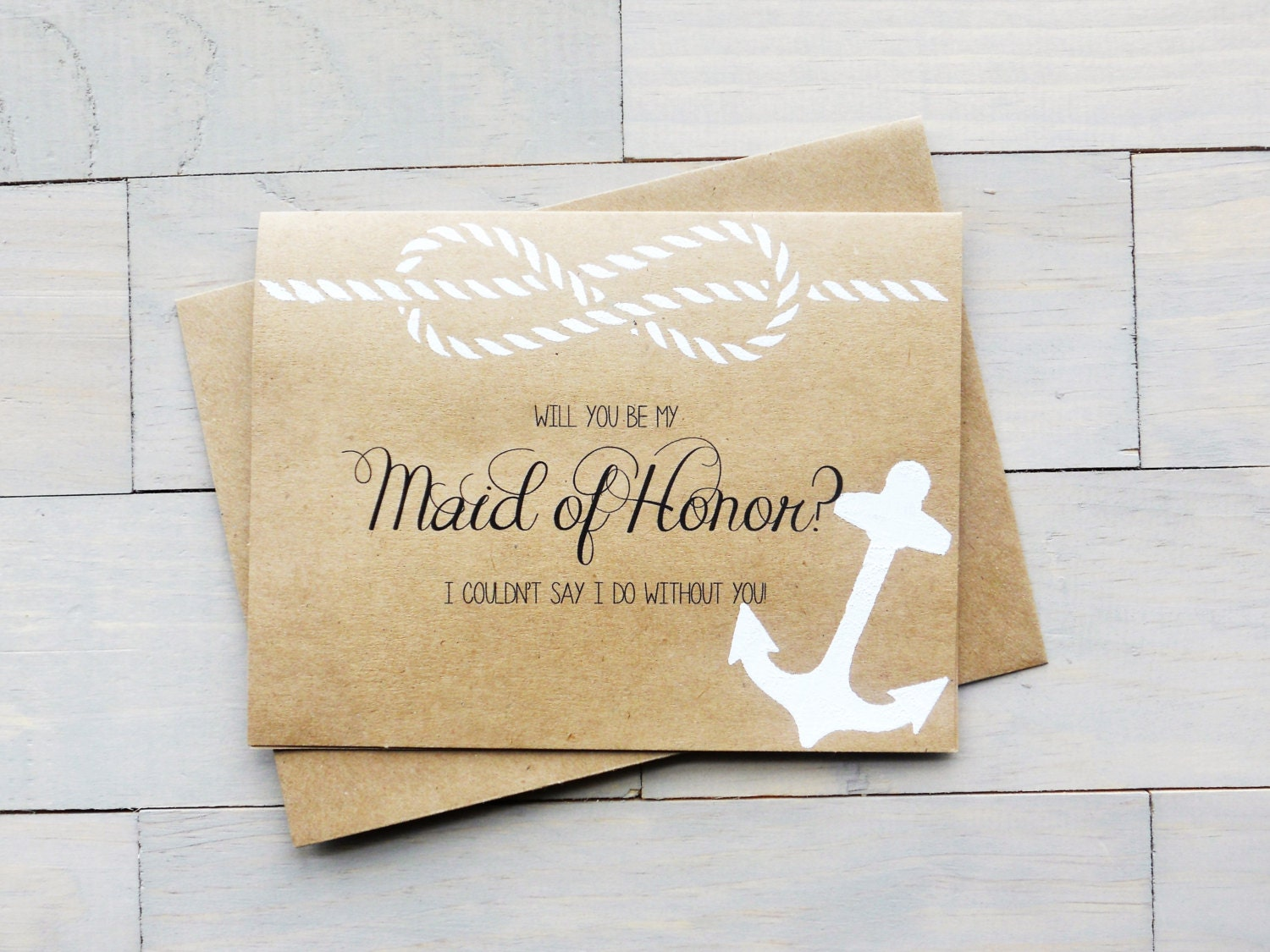 Beach Wedding Bridesmaid Gifts: Will You Be My Maid Of Honor Bridesmaid Gift Beach Wedding