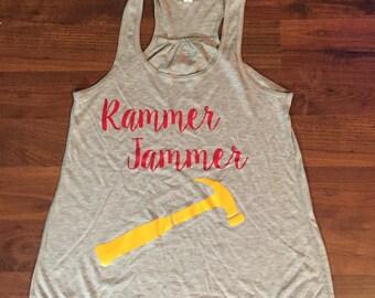 Bama tank top, Roll Tide Tank, elephant, A,  Alabama, Red, rammer jammer yellow hammer