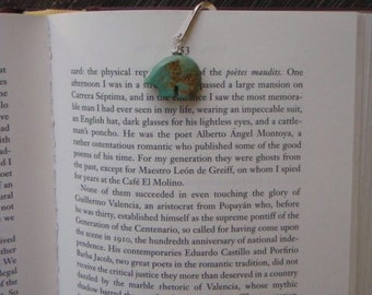 Turquoise Bear Bookmarks