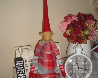 Long Pixie ,Nisse, Gnome ,Zauber,Doll