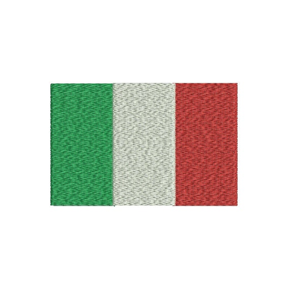 Machine embroidery design instant download italy tricolor