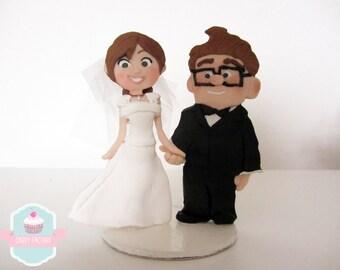 Carl and Ellie Cake topper