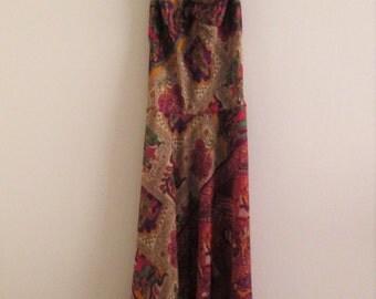 Silk Indian Halter Dress