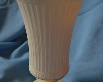 Vintage Lenox Vase, Grecian Collection, Ivory Porcelain with Gold Trim