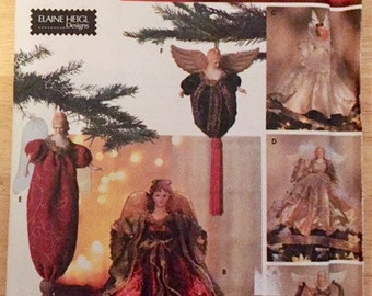 Christmas pattern -  Angel dress for angel doll