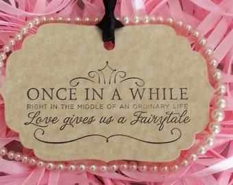 100 Wedding Wish Tree Tags Fairytale Weddings Vintage Style