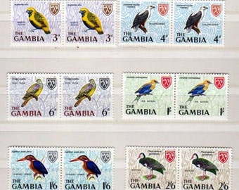 Bird Stamps, UNUSED, Stamps, Postage Stamps, Birds, MINT Stamps, Bird Postage Stamps, Unused Postage Stamps,Paper Crafts, Decoupage,