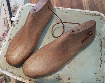 Vintage Wooden Shoe Last - suprisingly heavy in weight