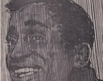 July 1965 Playbill Magazine With Sammy Davis Jr. On Cover
