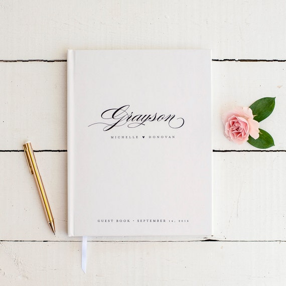 20 Gorgeous Wedding Guestbooks