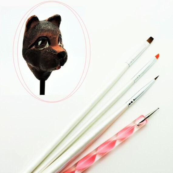 ... Clay Tools, Japanese Nail Art, Nail Art Designs, Diy Nail Art Kit