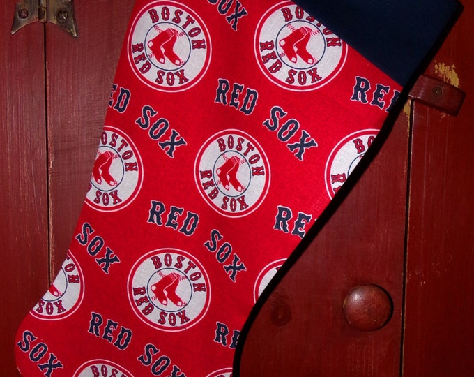 Red Sox Christmas Stocking
