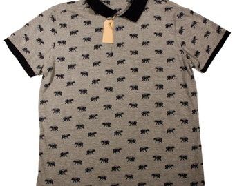 Polo shirt with bears print
