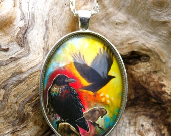 Evolution of the Heart (Ravens) - Wearable Art