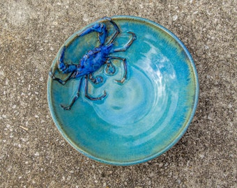 Crab Bowl Medium Stoneware
