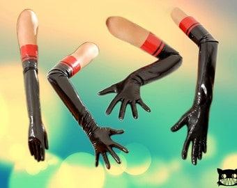 Marilyne very long latex gloves