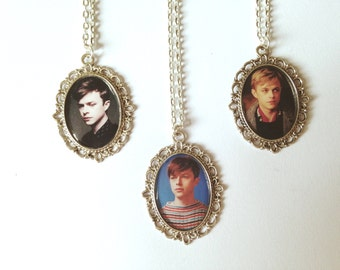 Dane DeHaan Cameo Necklaces