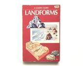 Vintage Golden Science Guide- Landforms / Vintage Golden Nature Guide / Geology Pocket Guide / Vintage Field Guide / Homeschool Reference