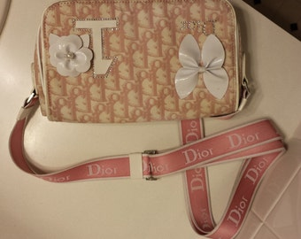 Dior Purse in Pink and White