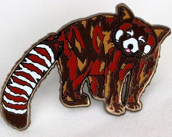 RED PANDA Hat PIN!!! Limited Edition Collectible!