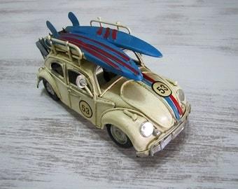 VW Beetle -Mini Vintage Design Vosvos -53 Herbie Volkswagen Bug