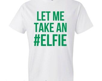 Funny Christmas Shirt. Christmas T-shirt. Elf T-shirt.