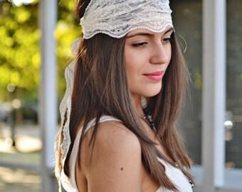 Bridesmaid Headband, Wedding Headband, Bandana Headband, Elastic Headband, Fitness Headband, Vintage Headbands Turban Headband Womens Turban