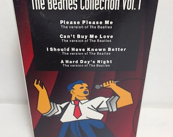 The Beatles Collection Vol 1 DKKaraoke DKSingAlong VHS Tape 1994 CKVUSA 3 - Sing Along Video Music & Lyrics