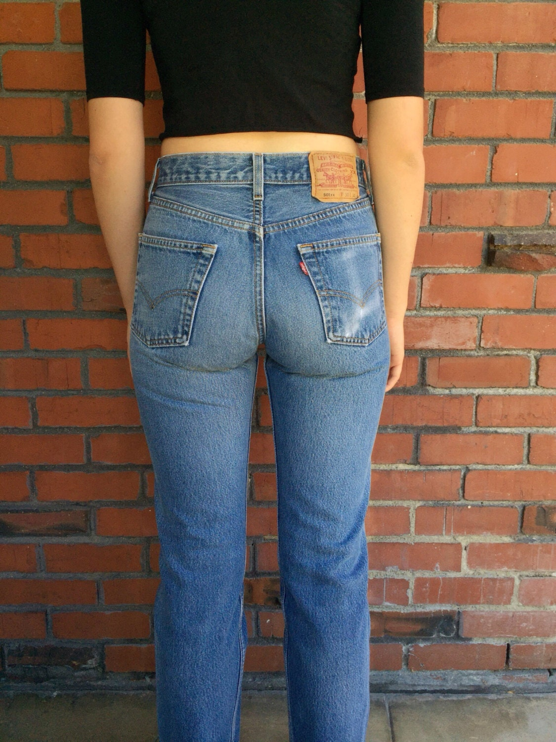 levis 501xx jeans 27 waist vintage mom jeans. Black Bedroom Furniture Sets. Home Design Ideas
