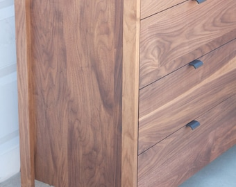 American Modern Dresser 9 drawer