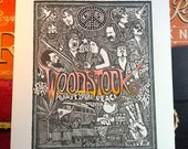 Woodstock Poster Print by Posterography