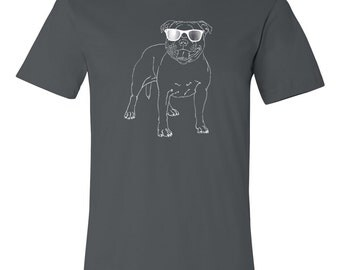 Pitbull T Shirt, Fat Head, Pitty, Pit Bull, American Pitbull Terrier, Bully, Staffordshire Terrier, Dog