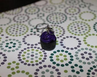 Polymer Clay Halloween Cupcake Phone Charm