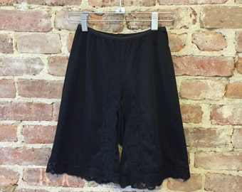 Size XS - Tap Pants - Black Lingerie - French Knickers