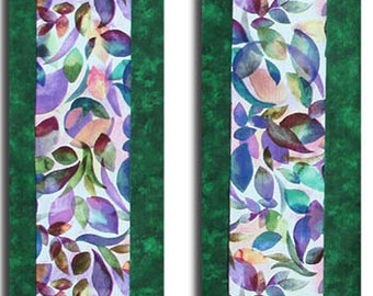 Clergy Stole, Green Clergy Stole, Ordinary Time Clergy Stole, Multi Color Clergy Stole, Green Leaves Clergy Stole, Custom Embroidery Inside