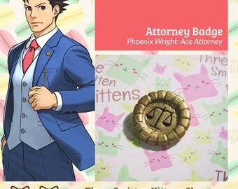Phoenix Wright Ace Attorney - Badge