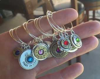 Dud Bullet Wine Charms - 6