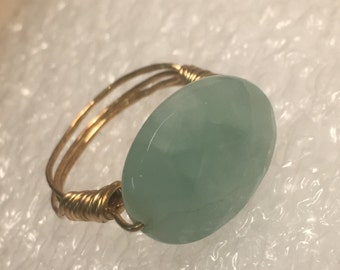 Handmade wire wrapped ring