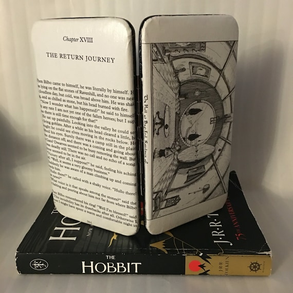 Lord of the Rings Book Page Wallet - Hobbit Hole