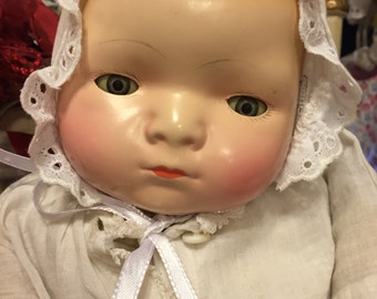 Darling antique composition Effanbee baby doll/ Dream baby