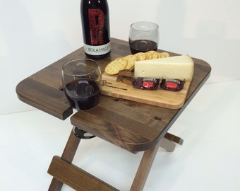 Barnwoodly folding Wine Table
