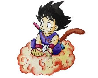 Goku Print!