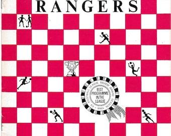 Vintage Football (soccer) Programme - Queens Park Rangers v Sheffield United, 1969/70 season
