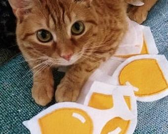 Wine Cat Toy, White Wine Catnip Cat Toy, Catnip Cat Toy, Wine Lover's Gift